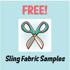 Free Patio Sling Fabric Samples