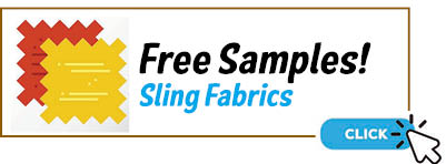 Free Patio Sling Outdoor Mesh Fabric Samples