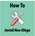 How To Install New Patio Slings