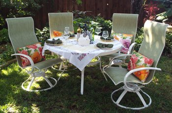We Make Replacement Slings, Padded Slings And Cushions For Homecrest  Outdoor Furniture.